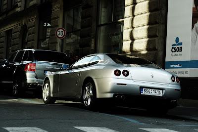 Ferrari in Prague