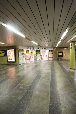 Prague - Albert at Mustek metro station