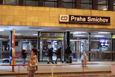 Prague - Praha Smichov train station