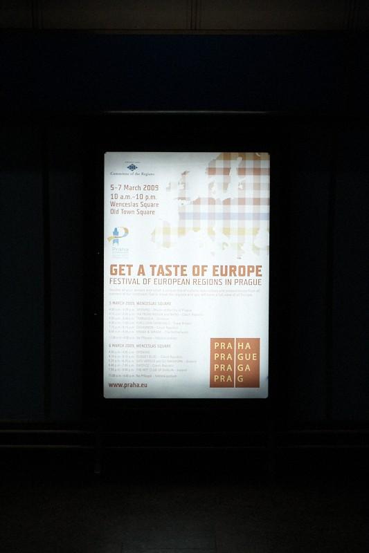 We got a taste of Europe, Prague