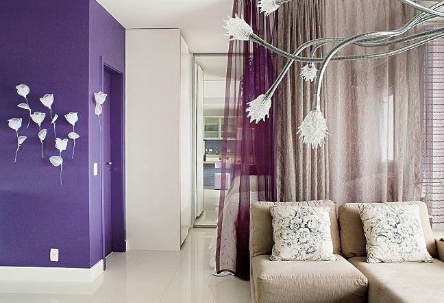 Brincando de Decoradora Roxo na decoração -> Decoracao De Banheiro Roxo