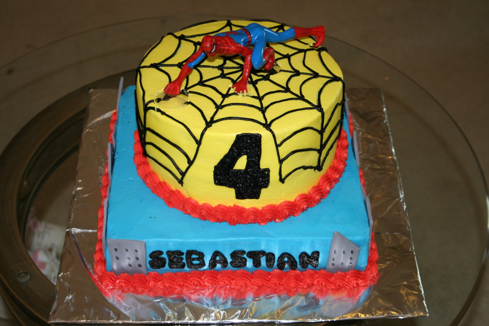 My Bakery Cake Spiderman