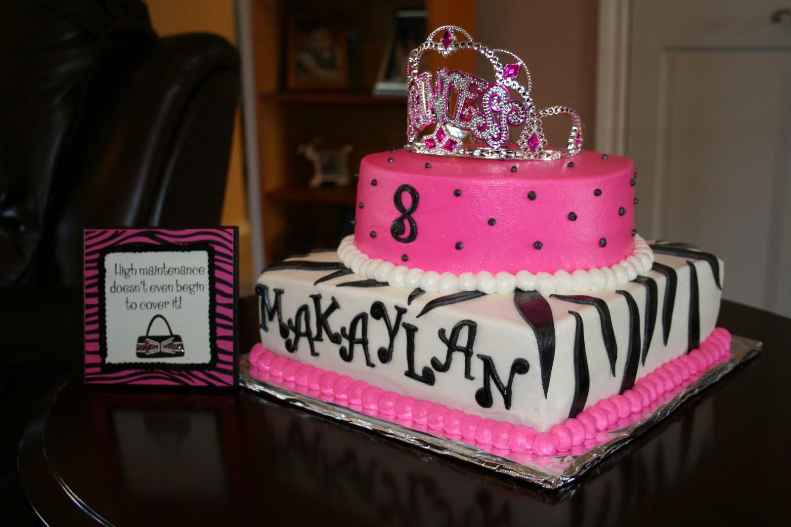 pink and black birthday Kaysmakehaukco