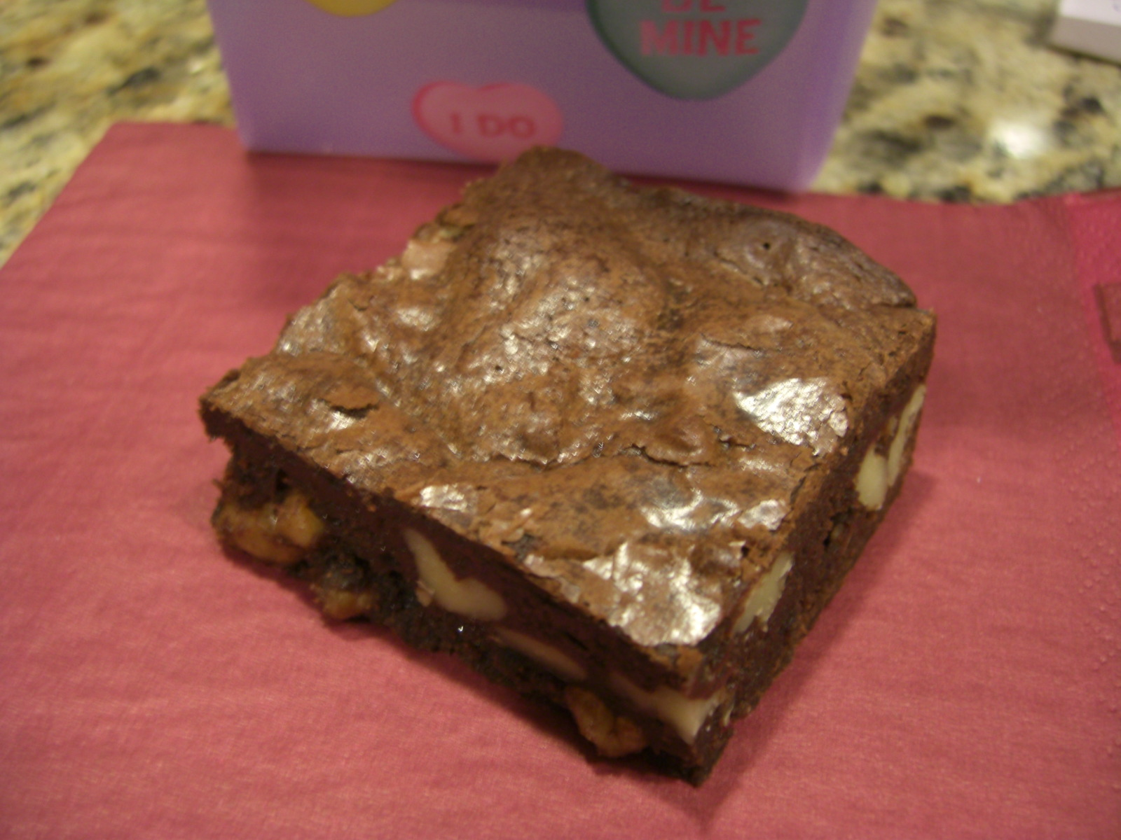 ... the subscription the cocoa brownies with browned butter and walnuts