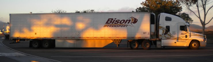 MY FIRST  BISON TRUCK