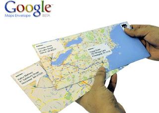 IMAGEM: Maps da Google em carta