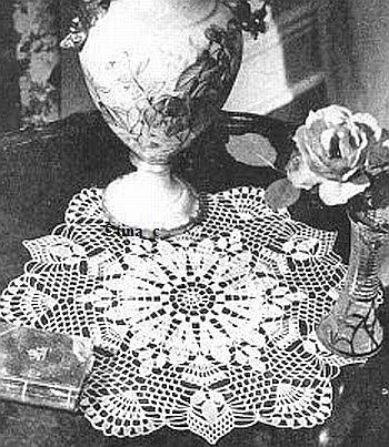 Totally Free Crochet Pattern Blog - Patterns: White ...