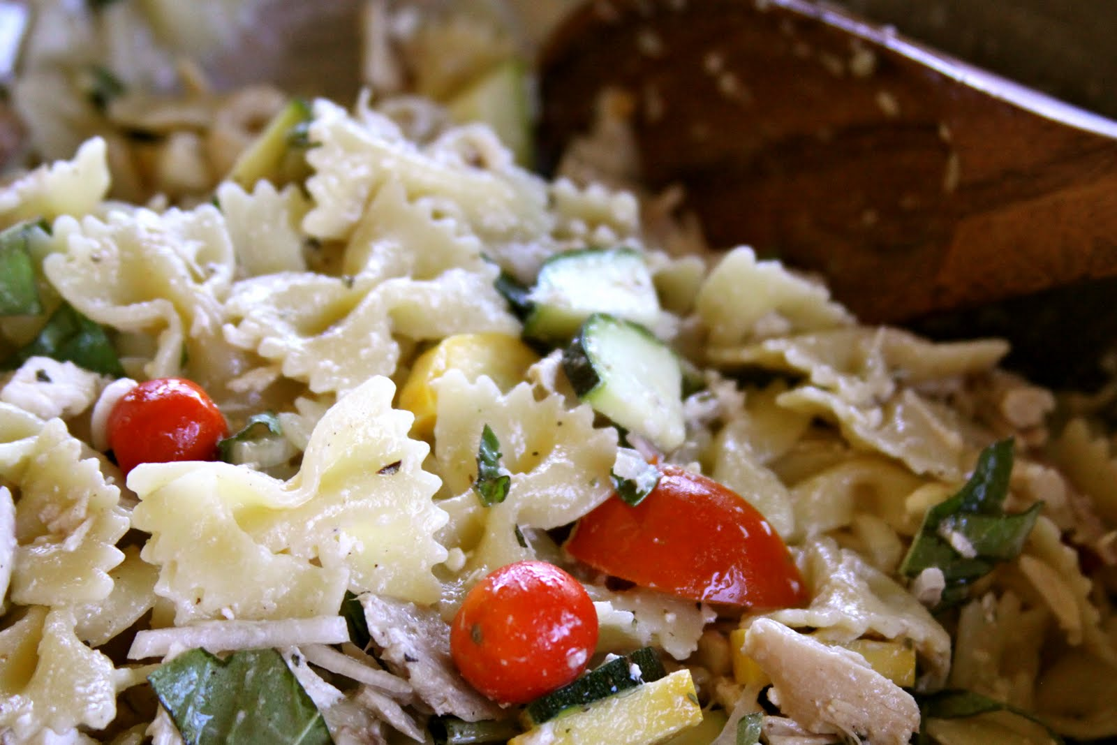 Homestead Revival: Summer Garden Pasta Salad