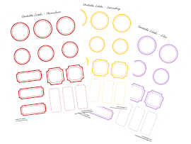Printable Tags &amp; Labels