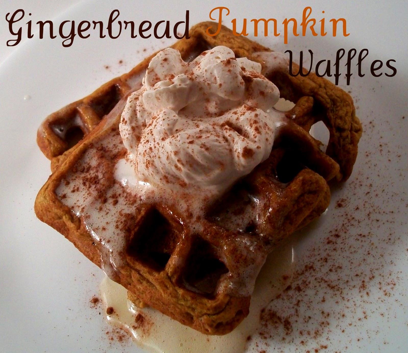 The Farm Girl Recipes: Gingerbread Pumpkin Waffles
