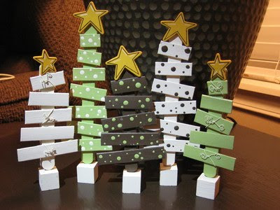 these darling trees are made out of popsicle sticks these look really easy to create i found these at michaels christmas crafts contest by kendra h for - Michaels Christmas Crafts