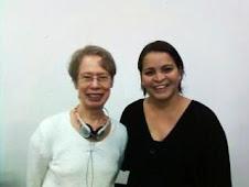 Com Carolyn Miller no Encontro Acadêmico sobre Gêneros na Linguística e na Literatura - UFPE / 2009