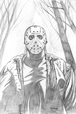 Jason Voorhees Coloring Pages