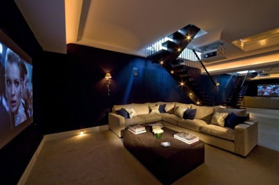 Cool home theater rooms pictures.