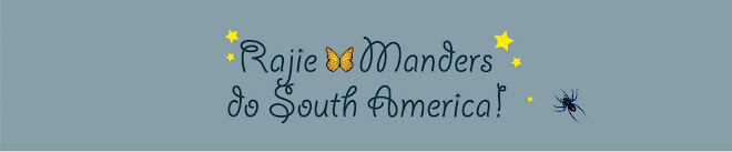 Rajie & Manders do South America!