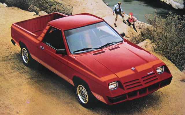1982-1984 Dodge Rampage 1/2 Ton Trucklet