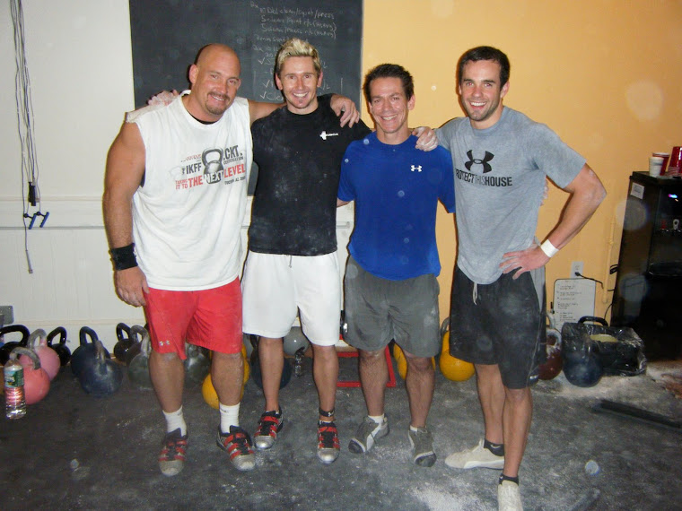 IKFF Kettlebell Trainer Certification (2008), NYC