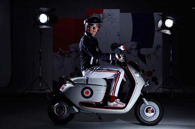 Mini E Concept Scooter