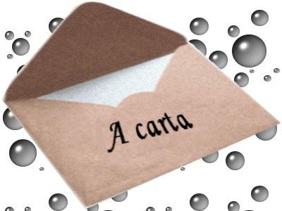 Cartas atiradas ao mar Carta