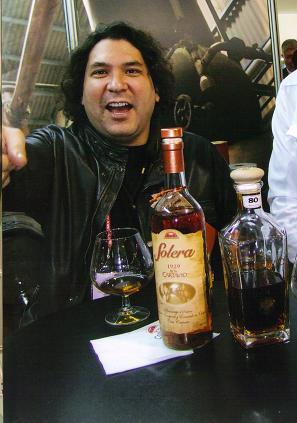 Famous peruvian chef