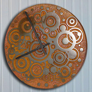 Circle Circle Clock