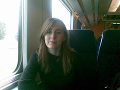 yo en el tren