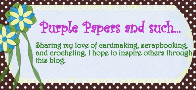 Purple Papers and such......