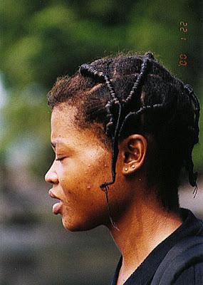 Bubi hairstyle