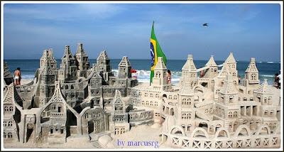 Sand Art - Castle