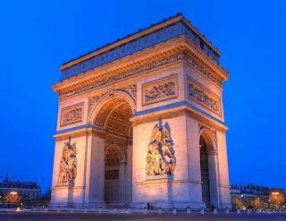 Arc de triumphe Paris France