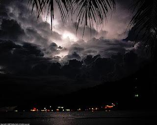 Lightning Perhentian Island Malaysia