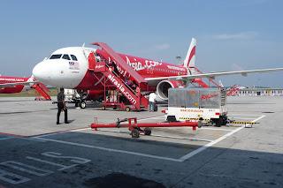 Air Asia air plane