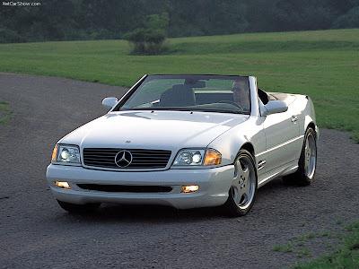 Mercedes Sl500r. Mercedes-Benz SL500
