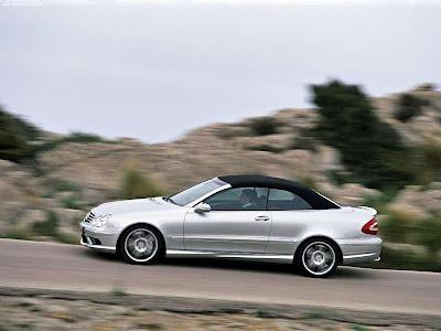 Mercedes Benz Clk350 Cabriolet. Mercedes-Benz CLK55 Cabriolet