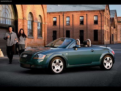 AUDI TT Roadster 1.8 T (1999-2005) Front + links 2005 Audi TT Roadster 1.8T