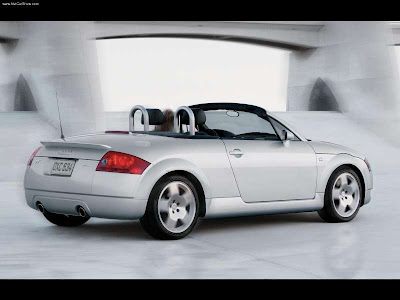 Audi TT Roadster 1.8T Audi TT The production model was launched as a coupé