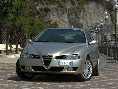 2003 Alfa Romeo 156 2.4 JTD WALLPAPERS · 2003 Alfa Romeo 156 Sportwagon 2.0