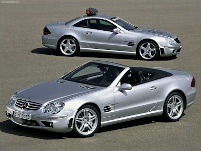 2003 mercedes benz sl55 amg with performance package for Mercedes benz sl 55 amg