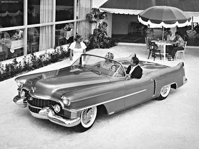 1953 Cadillac Le Mans Concept. El Cadillac de Le Mans es un