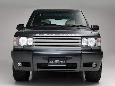 2003 Land Rover Range Rover. Wald Land Rover Range Rover Mk