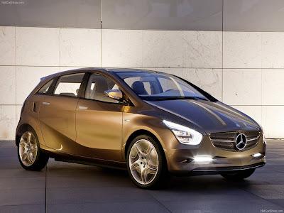 2009 Mercedes Benz Bluezero Concept. Mercedes-Benz BlueZero E-Cell