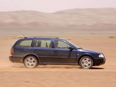 Planet Dcars 2003 Skoda Octavia Combi 4x4