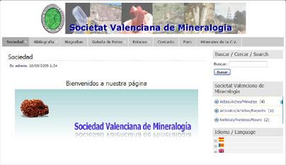Societat Valenciana de Mineralogía