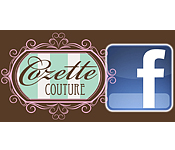 Add Cozette Couture on Facebook here!