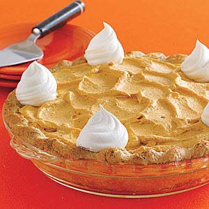halloween pumpkin mousse pie