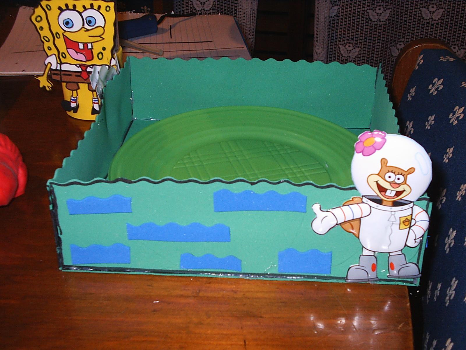 Smile decoraci n para cumplea os infantiles decoraci n bob esponja - Decoracion bob esponja ...