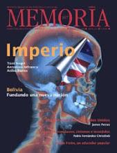 MEMORIA Revista de cultura y política