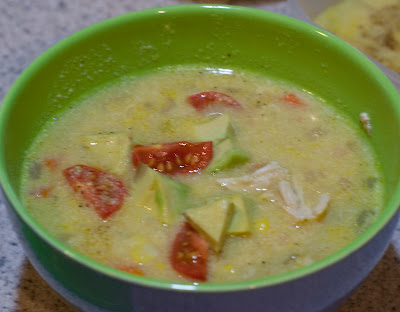 Weekly Recipe: Corn and Chicken Chowder