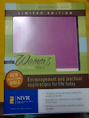 My Pink Bible!!! (THANK YOU VERY MUCH, MY NINANG ALEJA GOOD)