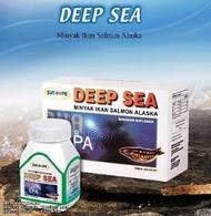 Suplemen asam lemak tak jenuh ganda omega 3 yang terdiri dari EPA dan DHA